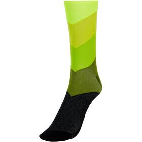 Mavic Graphic Stripes Calze, verde/nero
